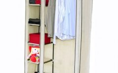 Double Rail Canvas Wardrobes