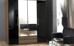 Black Shiny Wardrobes