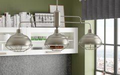 Dunson 3-light Kitchen Island Pendants