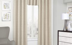 Eclipse Trevi Blackout Grommet Window Curtain Panels