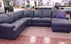 Eggplant Sectional Sofa