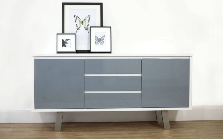 Grey Gloss Sideboards