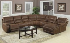 Spencer Leather Sectional Sofas