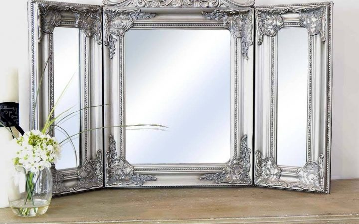 Silver Dressing Table Mirrors