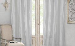 Elrene Jolie Tie-top Curtain Panels