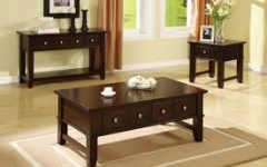 End Table And Coffee Table Sets For Living Room