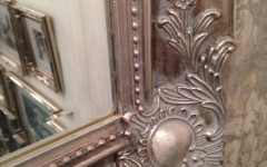 Shabby Chic Mirrors With Shelf