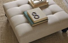 Large Upholstered Ottoman Coffee Tables