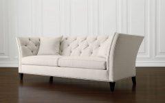 Allen White Sofas
