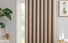 Embossed Thermal-weaved Blackout Grommet Drapery Curtains
