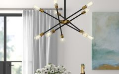 Everett 10-light Sputnik Chandeliers