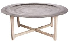 Metal Round Tray Coffee Table