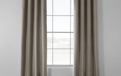 Bark Weave Solid Cotton Curtains
