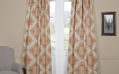 Moroccan-style Thermal Insulated Blackout Curtain Panel Pairs