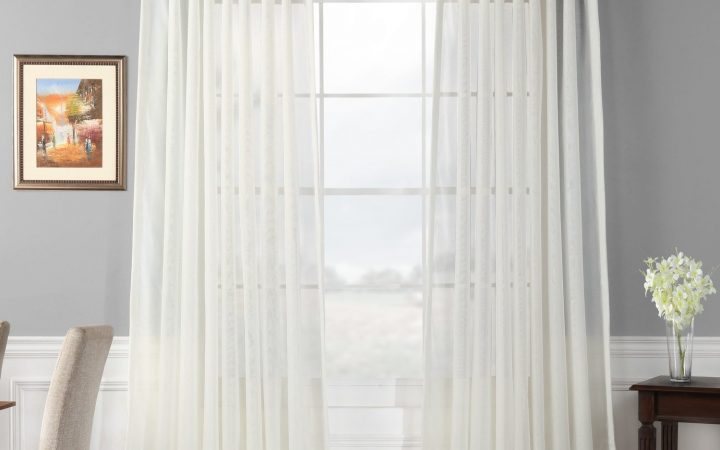 Signature Extrawide Double Layer Sheer Curtain Panels