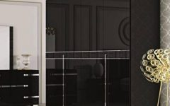 Black Gloss Wardrobes