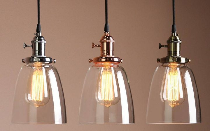 Industrial Glass Pendant Lights