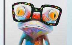 Gecko Canvas Wall Art