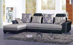 L Shaped Fabric Sofas