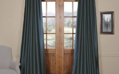 Solid Faux Silk Taffeta Graphite Single Curtain Panels