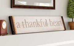 Fawcett Thankful Heart Wall Decor