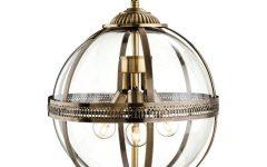 Bronze Globe Pendant Lights