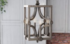 Freeburg 4-light Lantern Square / Rectangle Pendants