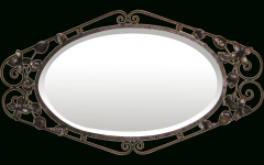 Black Wrought Iron Mirrors