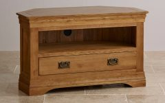 Oak Corner Tv Stands