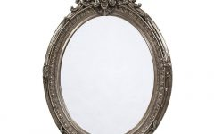 French Oval Mirrors