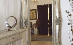 Ornate Full Length Wall Mirrors