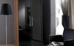 Gloss Black Wardrobes