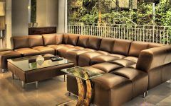 Extra Large Leather Sectional Sofas
