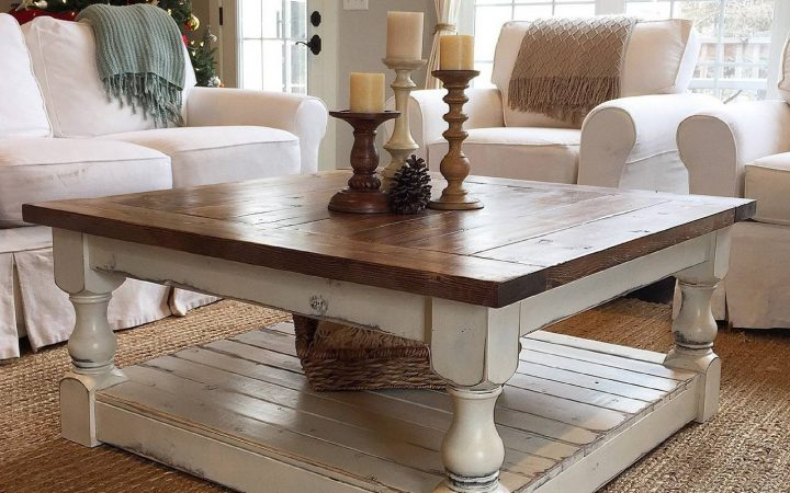 Chunky Coffee Tables