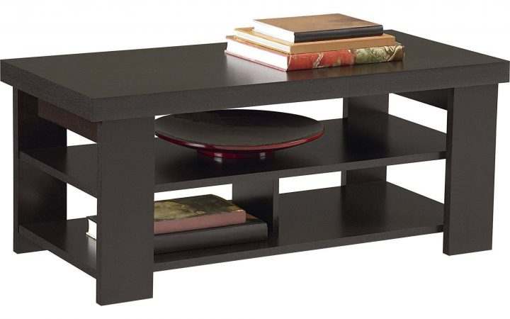 Coffee Tables with Shelves