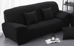Black Sofa Slipcovers