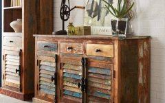 Distressed Wood Sideboards