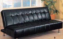 Faux Leather Futon Sofas