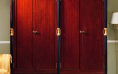Dark Wood Wardrobes Armoires