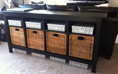 Sofa Tables with Storages