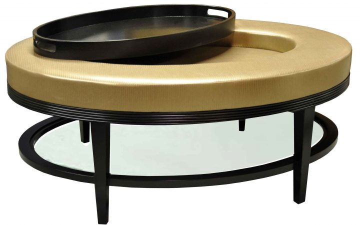Wooden Round Trays for Coffee Tables