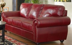 Burgundy Leather Sofa Sets