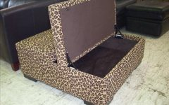 Animal Print Ottoman Coffee Tables