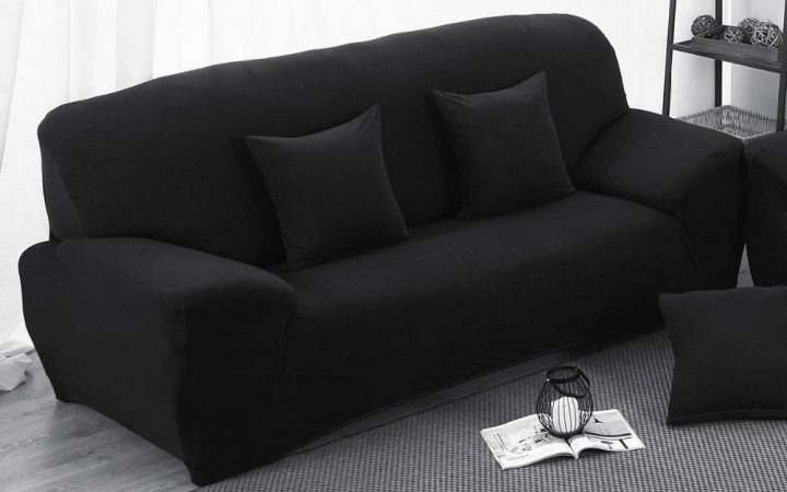 Sofas with Black Cover