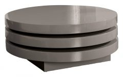 Round Swivel Coffee Tables