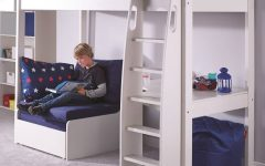 High Sleeper With Wardrobes and Futon