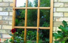 Garden Window Mirrors