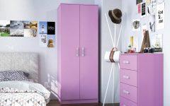 Pink High Gloss Wardrobes