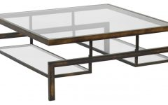 Glass Steel Coffee Tables