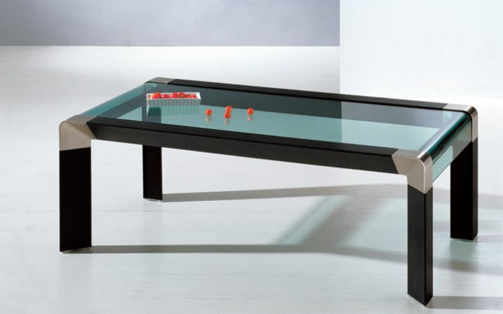 Glass and Wood Coffee Table Sets